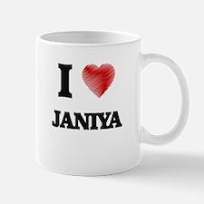 I Love Janiya Mugs