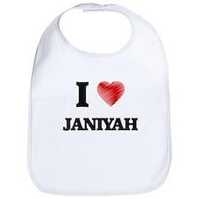 I Love Janiyah Bib