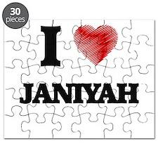 I Love Janiyah Puzzle