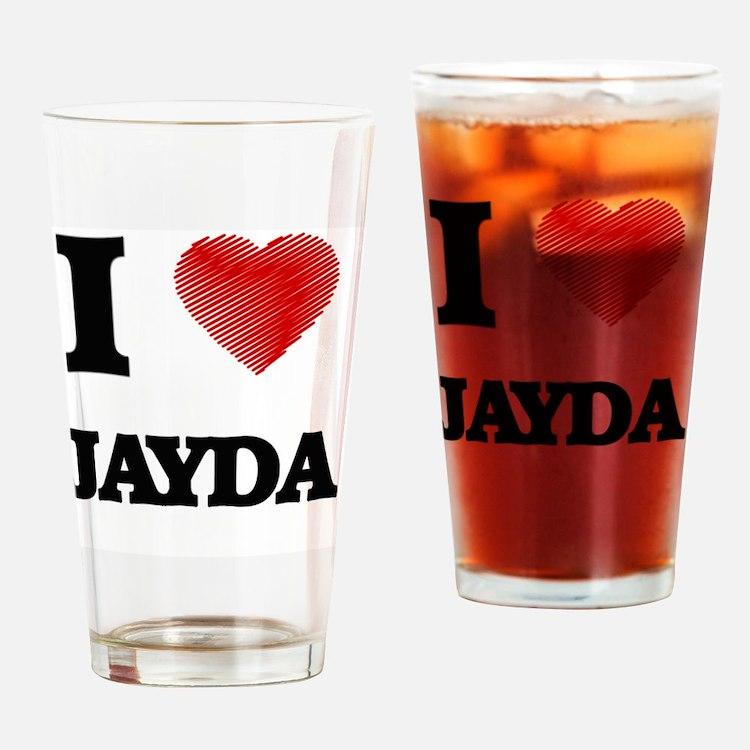 Cute Jayda Drinking Glass