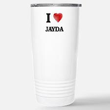 I Love Jayda Travel Mug