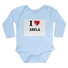 I Love Jayla Body Suit