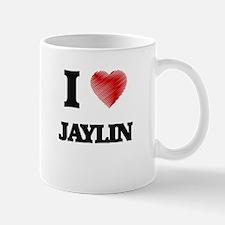 I Love Jaylin Mugs