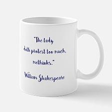 THE LADY DOTH... Mugs