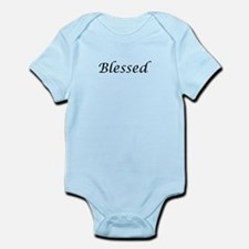 Blessed Calligraphy Style Infant Bodysuit