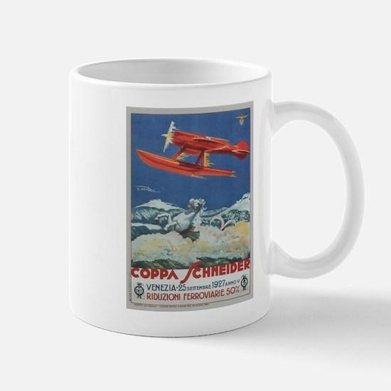 Vintage poster - Coppa Schneider Mugs