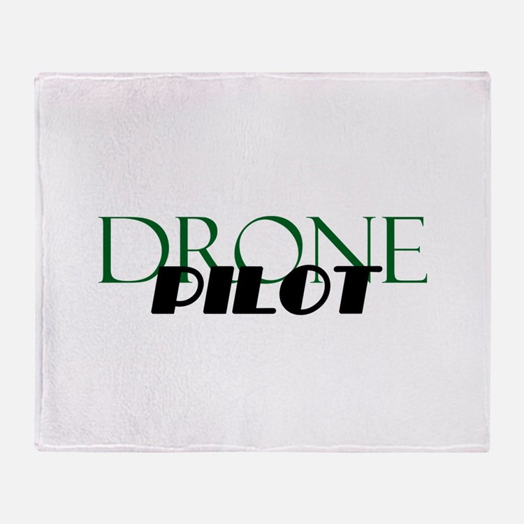Drone Pilot Throw Blanket