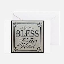 Cute Southern sayings Greeting Card