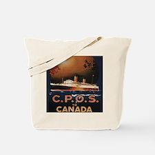 Cute Ocean liners Tote Bag