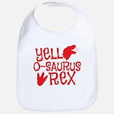 Yell-o-saurus rex Bib