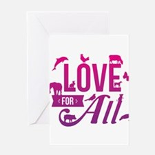 Love for All Greeting Cards