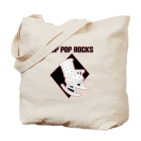 Pop Pop Rocks Tote Bag