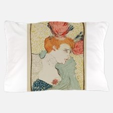 Vintage poster - Woman Pillow Case