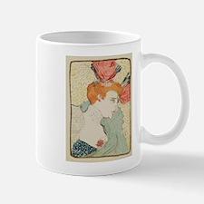 Vintage poster - Woman Mugs