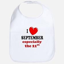 September 21st Bib