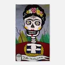 Cute Day of the dead Area Rug