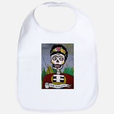 Frida's Dia De Los Muertos Bib