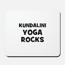 Kundalini Yoga Rocks Mousepad