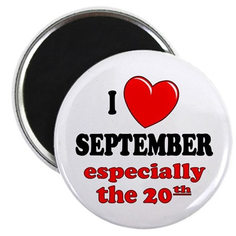 "September 20th 2.25"" Magnet (100 pack)"