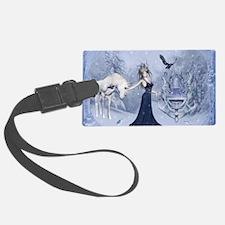 Cute Elsa Luggage Tag