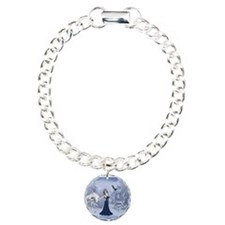 Cute Elsa Charm Bracelet, One Charm