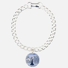 Unique Elsa Charm Bracelet, One Charm