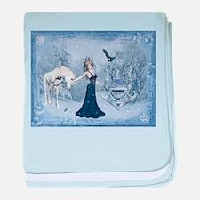 ice queen baby blanket