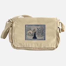 ice queen Messenger Bag