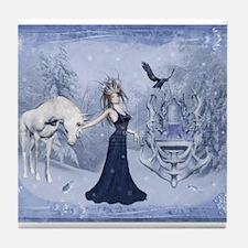 ice queen Tile Coaster