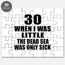 30 When I Was Little Birthday Puzzle