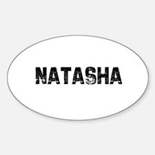 Natasha Oval Decal