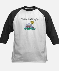 Rather be with PopPop Kids Baseball Jersey