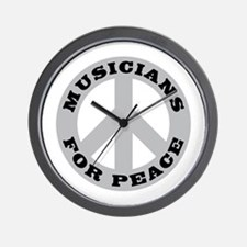 Musicians For Peace Wall Clock
