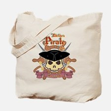 Funny Walk the plank Tote Bag