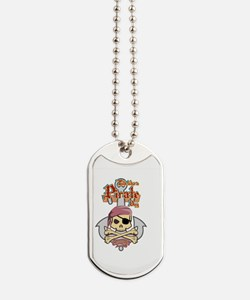 Funny Walk the plank Dog Tags