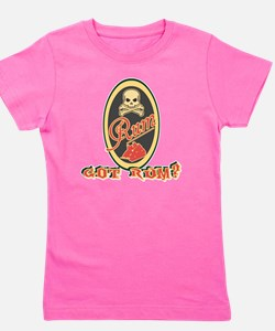 Funny Walk the plank Girl's Tee