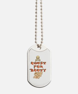 Walk the plank Dog Tags