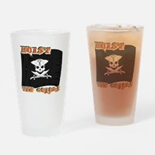 Cool Walk the plank Drinking Glass