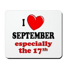 September 17th Mousepad