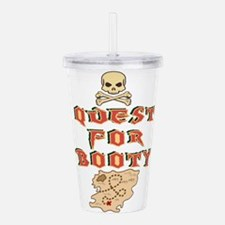 Quest for Booty Acrylic Double-wall Tumbler