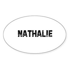 Nathalie Oval Decal