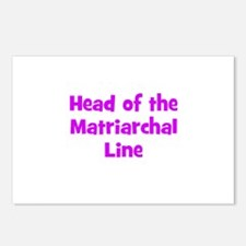 Head of the Matriarchal Line Postcards (Package of
