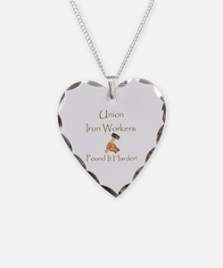 Cute Iron worker Necklace