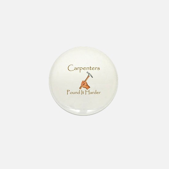 Funny Carpenter Mini Button