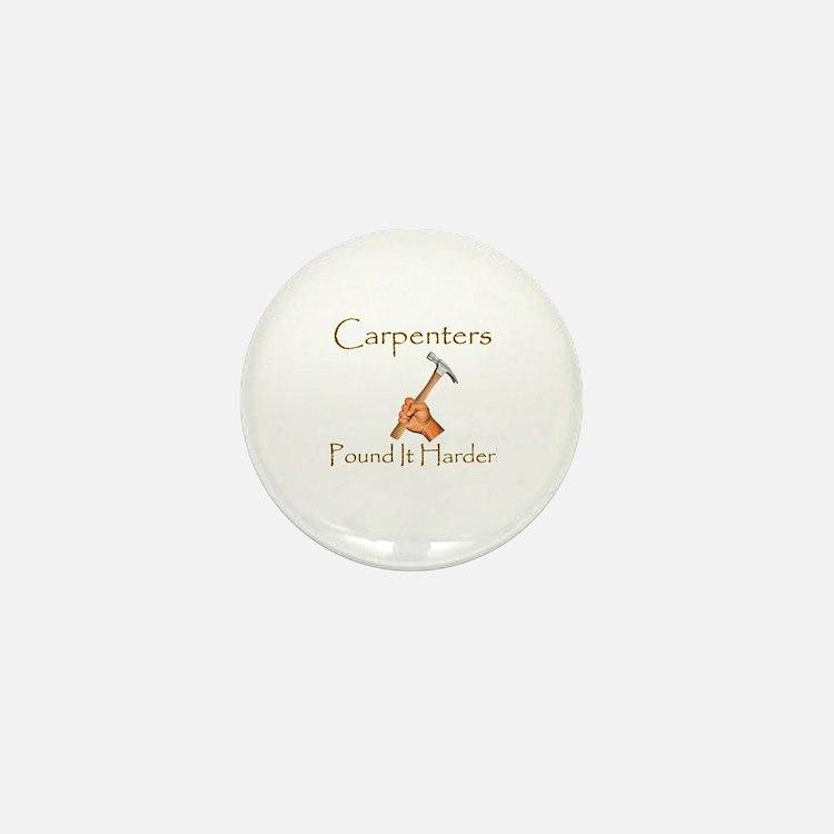 Cute Carpenter Mini Button