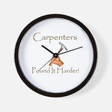 Funny Carpenter Wall Clock