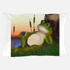 The Frog and Snail Pillow Case