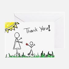 Teacher Thank You Greeting Card