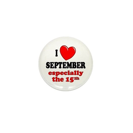 September 15th Mini Button (100 pack)