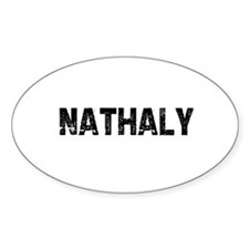 Nathaly Oval Decal